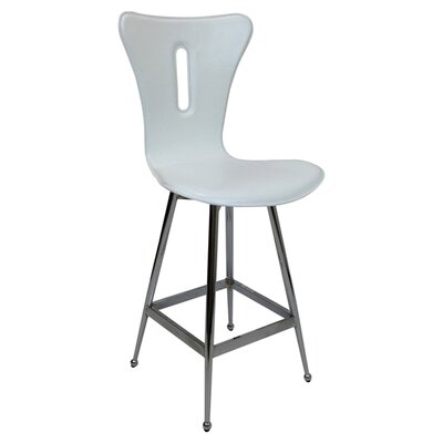 26 Bar Stool (Set of 2) Upholstery: Pure White
