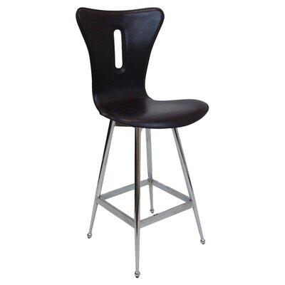 26 Bar Stool (Set of 2) Upholstery: Brown