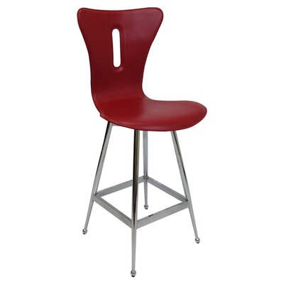 26 Bar Stool (Set of 2) Upholstery: Special Red