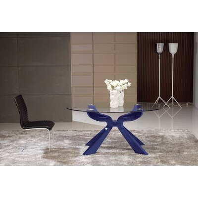 Dining Table Finish: Blue
