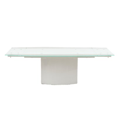 Etzel Dining Table Finish: White