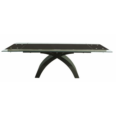 Blackburn Extendable Dining Table Base Finish: Black