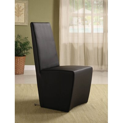 Daniels Side Chair (Set of 2) Finish: Black