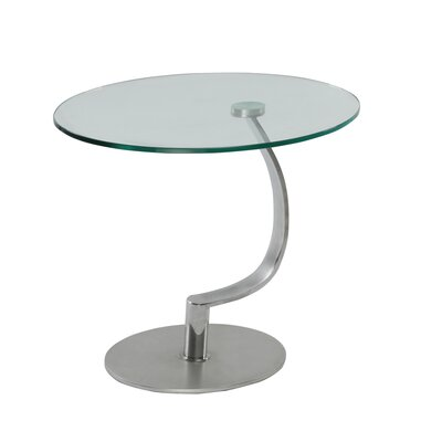 Matsuda Glass End Table