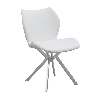 Wolcott Dining Chair (Set of 4) Color: White