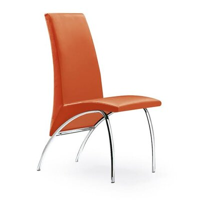 Hamil Dining Chair Color: Orange