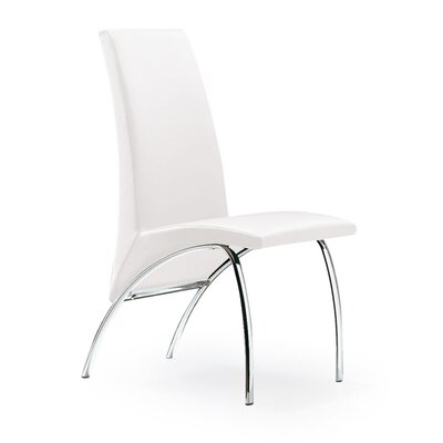 Hamil Dining Chair Color: White