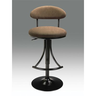 In store financing Microfiber Barstool with Gas Lift C...