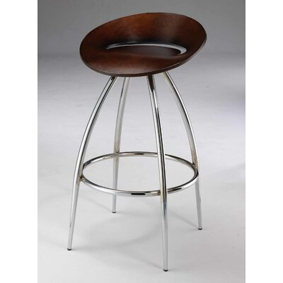 30 Bar Stool (Set of 2) Upholstery: Wenge