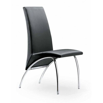 Hamil Dining Chair Color: Black