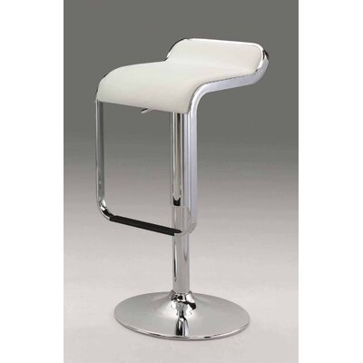 Ewing Adjustable Height Bar Stool with Cushion