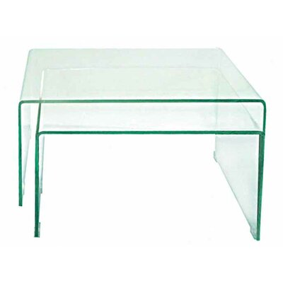 Coffee Table Set Color: Extra Clear