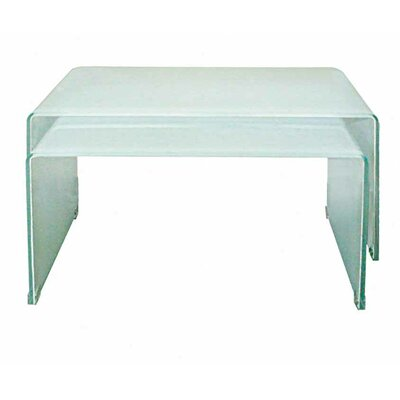 Coffee Table Set Color: Extra White