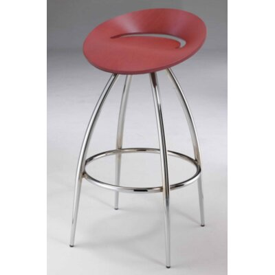 30 Bar Stool (Set of 2) Upholstery: Natural