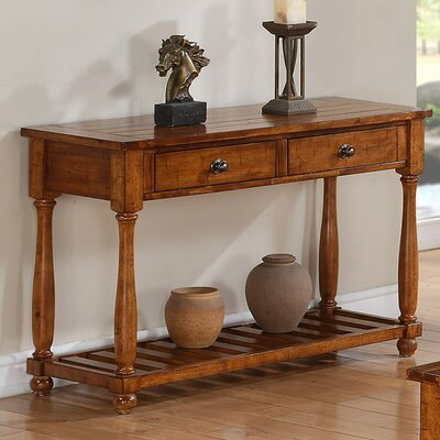 Winners Only, Inc. Winners Only Sofa Table in Acacia Finish