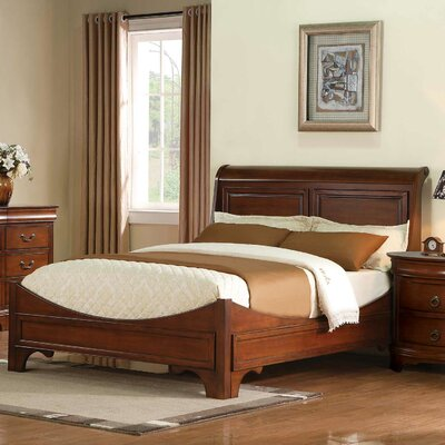 Winners Only, Inc. Renaissance Sleigh Bed - Finish: Cherry, Size: Queen at Sears.com