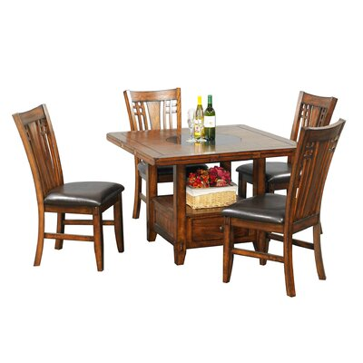 Winners Only, Inc. Zahara Dining Set (5 Pieces)
