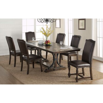 Keshia Cushioned Upholstered Dining Chair (Set of 2)