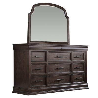 Xcalibur 11 Drawer Dresser with Mirror