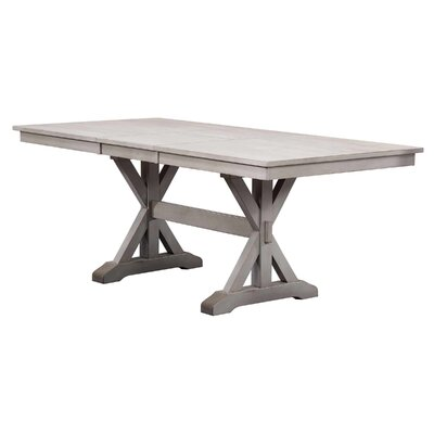 Rutledge Dining Table with Butterfly Leaf Finish: Gray