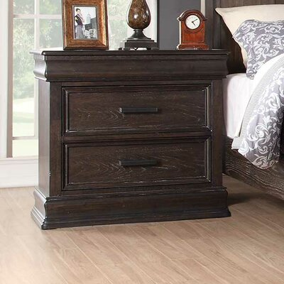 Xcalibur 3 Drawer Nightstand