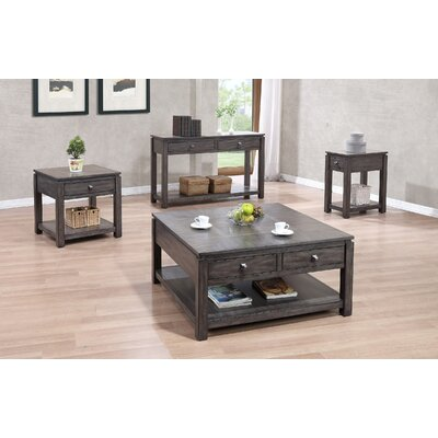 Climer 3 Piece Coffee Table Set