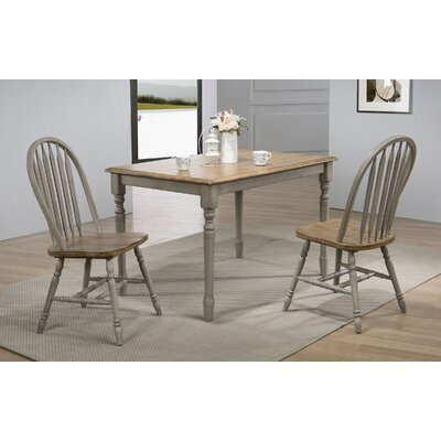 Sima Leg Dining Table Color: Gray