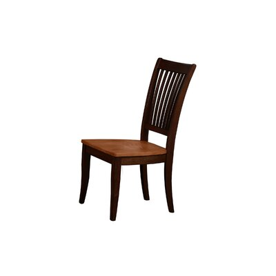 Garden Grove Solid Wood Dining Chair (Set of 2) Color: Espresso