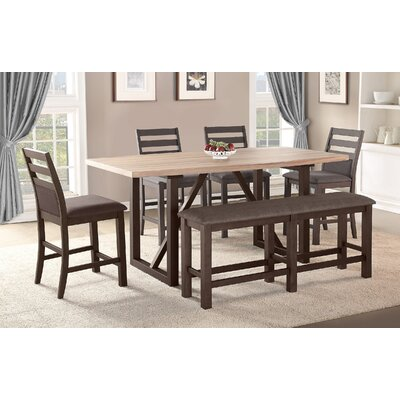 Clogh 6 Piece Dining Set