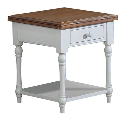 Cornwall End Table Size: 24 H x 20 W x 23 D