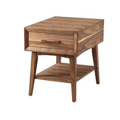 Brookport End Table Size: 24 H x 20 W x 24 D