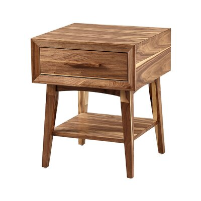 Brookport End Table Size: 24 H x 20 W x 18 D