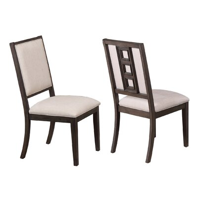 Claypoole Cushioned Upholstered Dining Chair (Set of 2)