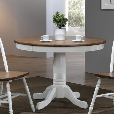 Coldspring Round Dining Table Color: White