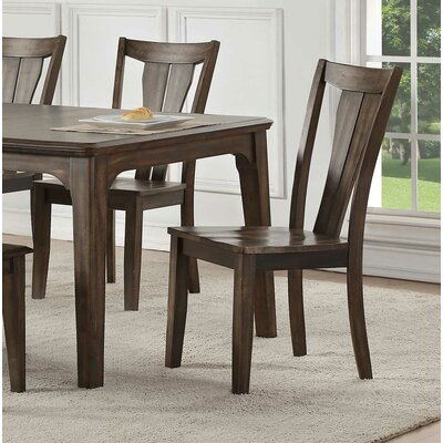 Clintonville Fan Back Side Solid Wood Dining Chair (Set of 2)