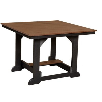Heritage Dining Table Finish: Weathered Wood/Black