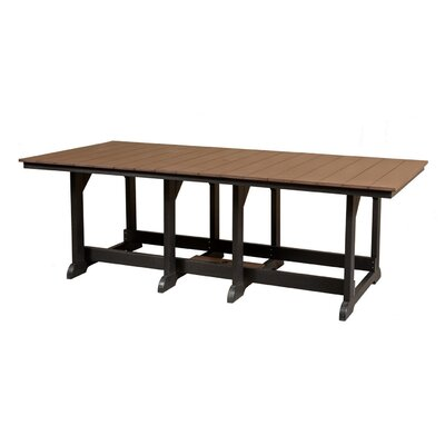 Heritage Dining Table Finish: Tudor Brown/Black