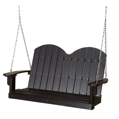 Classic Savannah Porch Swing Finish: White