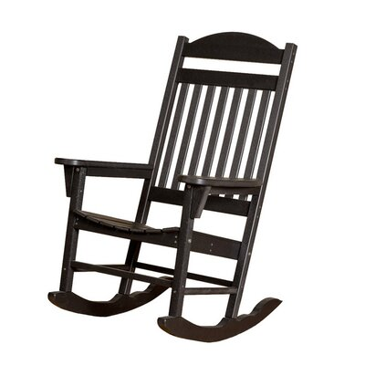 Little Cottage Company Heritage Traditional Rocker Chair - Finish: Bright Orange
