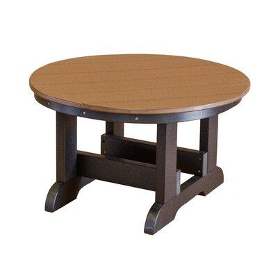 Heritage Conversation Table Finish: Tudor Brown/Black