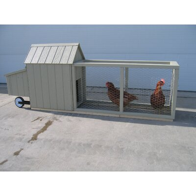 Berlin Chicken Tractor with Chicken Run