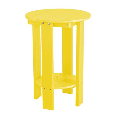 Heritage Balcony Table Finish: Lemon Yellow