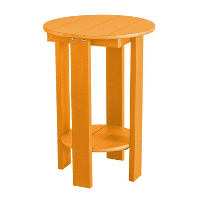 Heritage Balcony Table Finish: Bright Orange