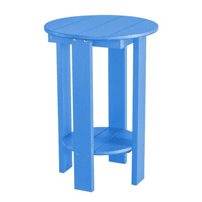 Heritage Balcony Table Finish: Blue