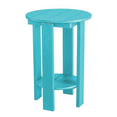 Heritage Balcony Table Finish: Aruba Blue