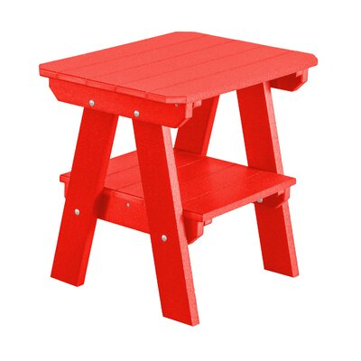 Heritage 2 Tier End Table Finish: Bright Red
