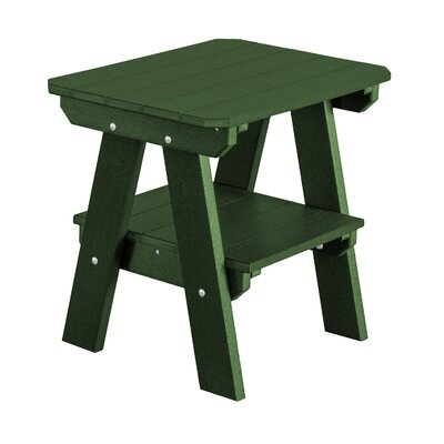 Heritage 2 Tier End Table Finish: Turf Green