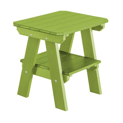 Heritage 2 Tier End Table Finish: Tropical Lime Green