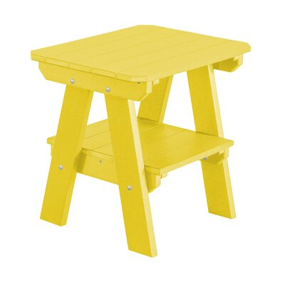 Heritage 2 Tier End Table Finish: Lemon Yellow
