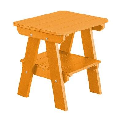 Heritage 2 Tier End Table Finish: Bright Orange